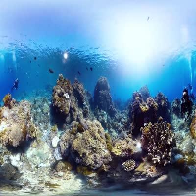 美丽蓝色海洋